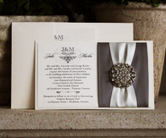 Browse our collection of custom handmade wedding invitations today!  Choose from a variety of options to create your own unique wedding invitation design.