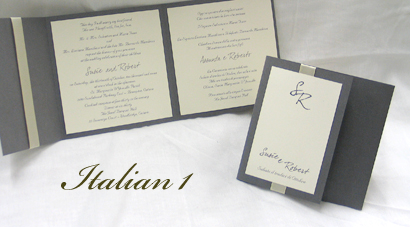 Wedding Invitation Italian1 Sage Pearl Cream Smooth Dear Joe 4 Nuncio