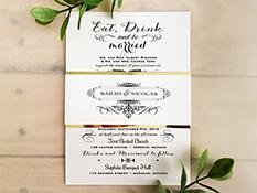 Wedding invitations wedding invitation 1600 ice pearl ice pearl stopboris Images