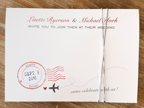 Wedding Invitation Destination11: