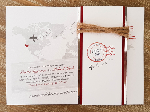 Wedding Invitation Destination14: