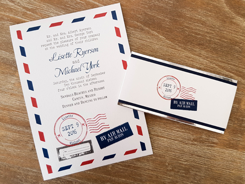 Wedding Invitation Destination16: