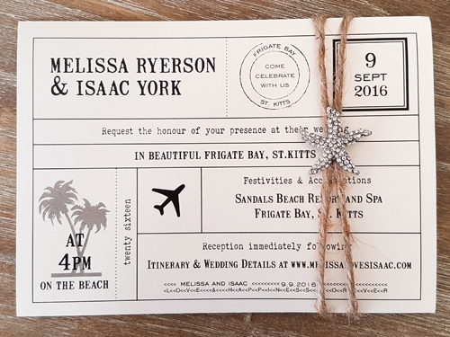 Wedding Invitation Destination18: