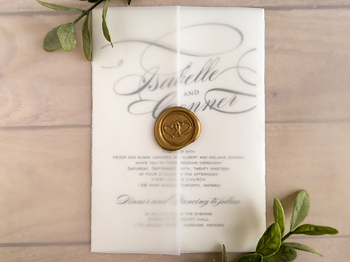 Wedding Invitation 2108: Blush Pearl