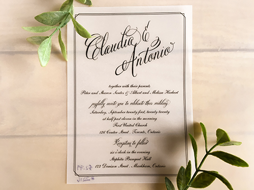 Wedding Invitation 2216: