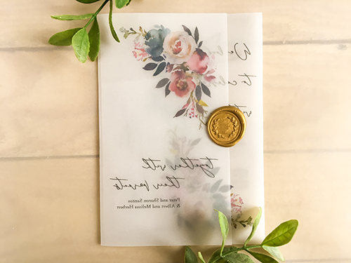 Wedding Invitation 2221: