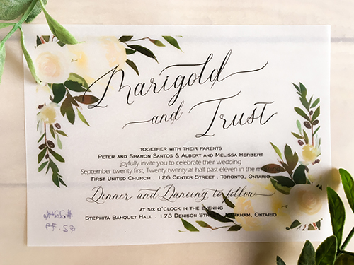 Wedding Invitation 2246:
