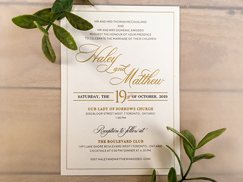 Wedding Invitation 2251: