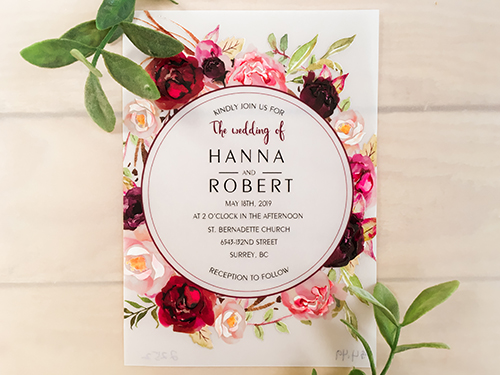 Wedding Invitation 2252: