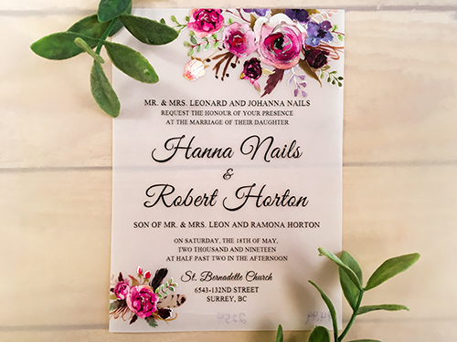 Wedding Invitation 2254: