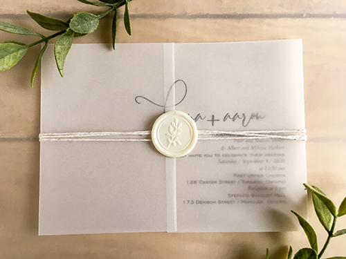 Wedding Invitation 2261: