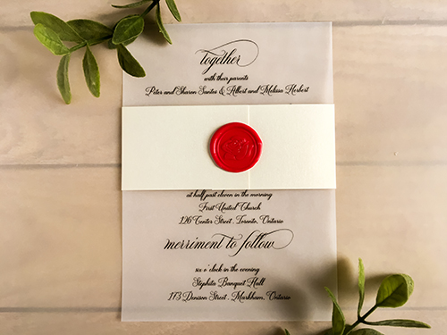 Wedding Invitation 2279: