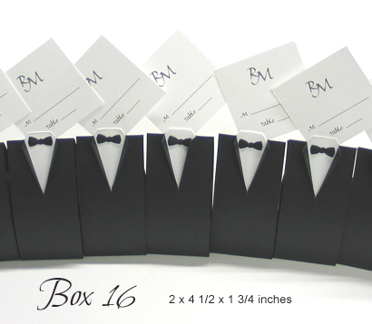 Favour Box Box16: Black Linen