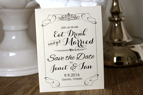 Wedding Invitation SavetheDate13:
