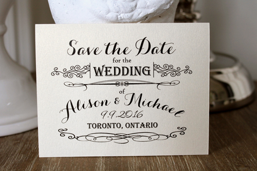 Wedding Invitation SavetheDate22: