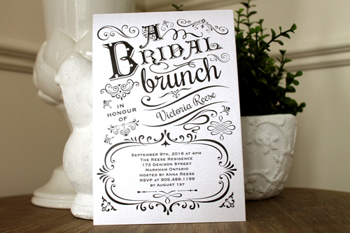 Wedding Invitation S29: