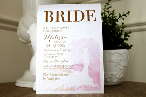 Wedding Invitation S32: