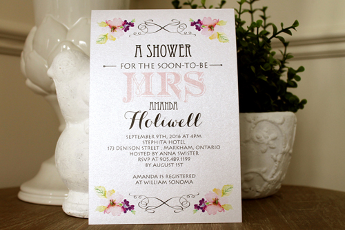 Wedding Invitation S42:
