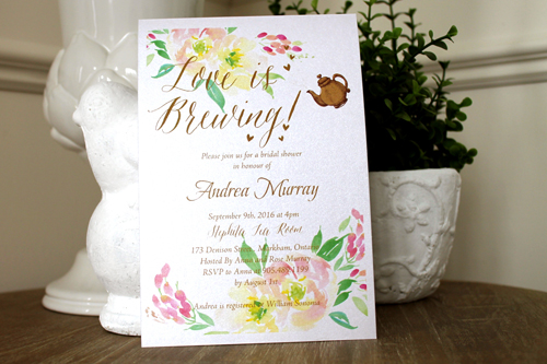 Wedding Invitation S45: