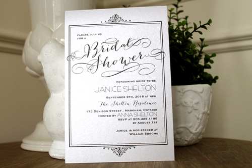 Wedding Invitation S46: