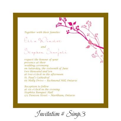 WEDDING INVITATIONS, BRIDAL SHOWER INVITATIONS, POCKETFOLD, RHINESTONE ...