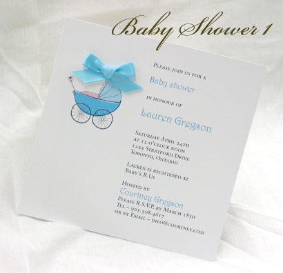 Invitation BabyShower1:
